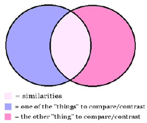 Comparison and similarity essay